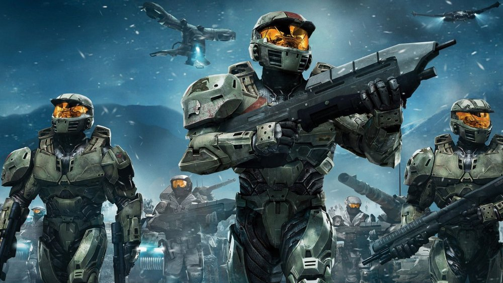 The cover art for Halo Wars