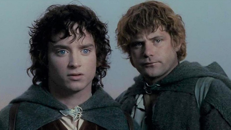 Sean Astin and Elijah Wood, The Lord of the Rings: The Two Towers
