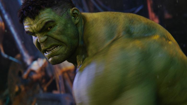 Hulk in Infinity War
