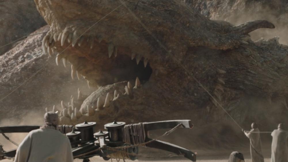 The Greater Krayt Dragon on The Mandalorian season 2