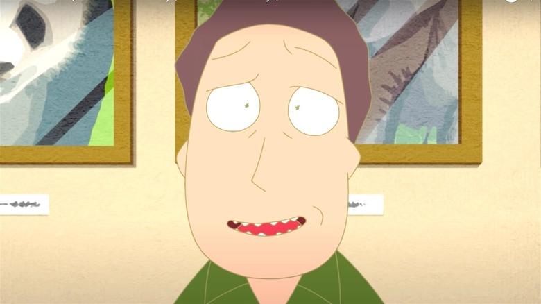 Rick Sanchez in anime form
