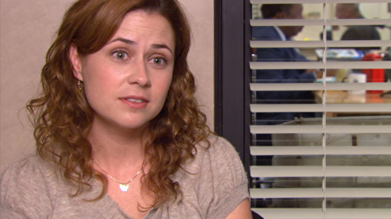 Jenna Fischer as Pam Beesly on The Office