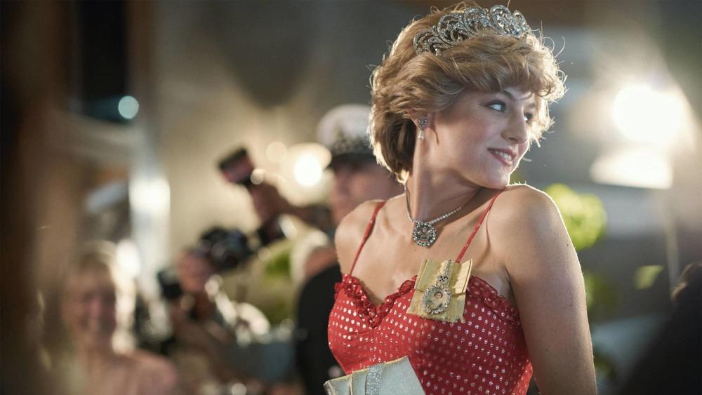 Emma Corrin plays Princess Diana on season 4 of The Crown