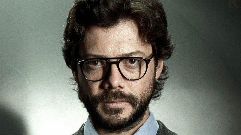 Álvaro Morte as The Professor in Money Heist