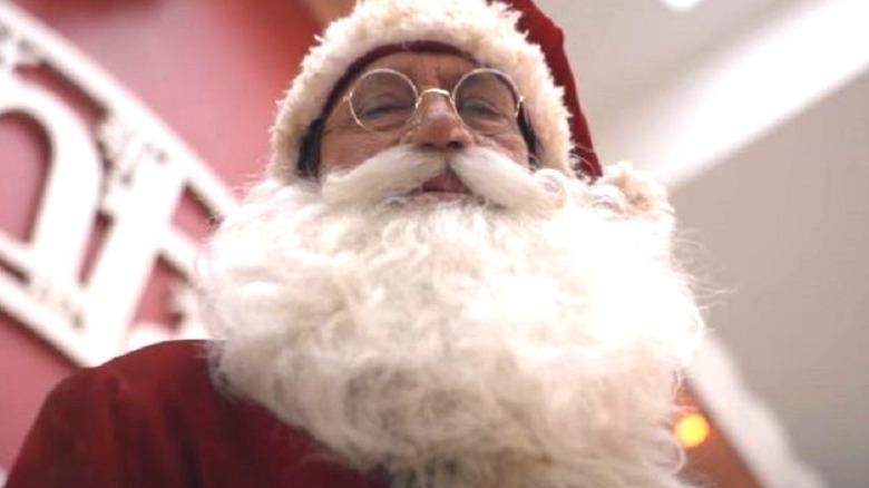 Santa leering