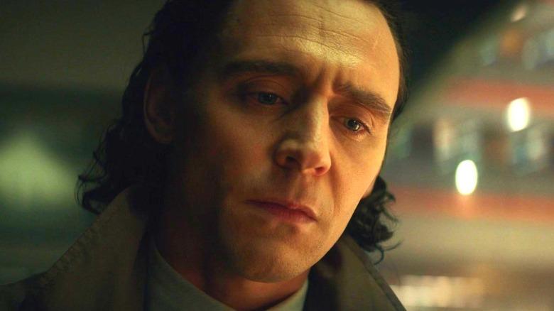 Loki looking down