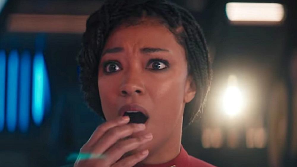 Sonequa Martin-Green in Star Trek: Discovery
