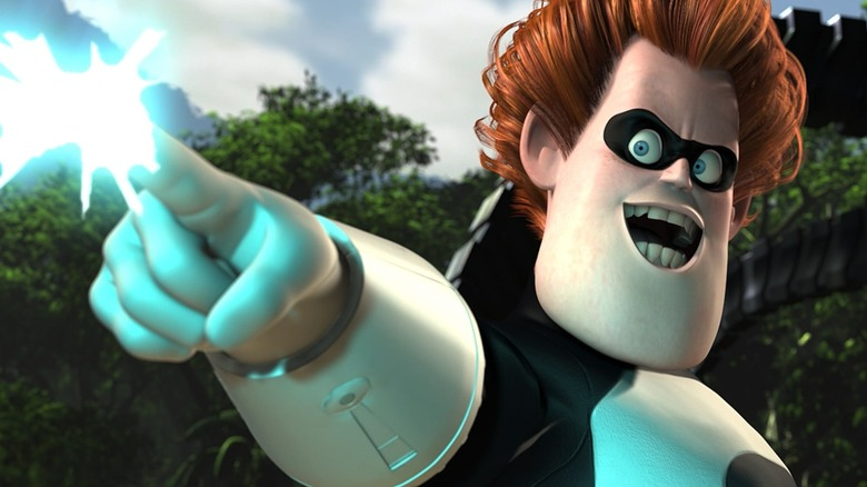 Jason Lee as Syndrome in The Incredibles