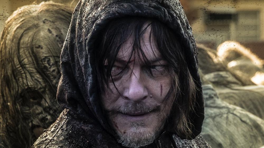 Daryl hooded