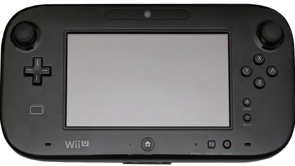 Black Wii U GamePad