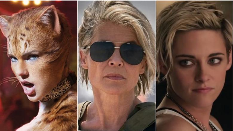 Cats/Terminator: Dark Fate/Charlie's Angels