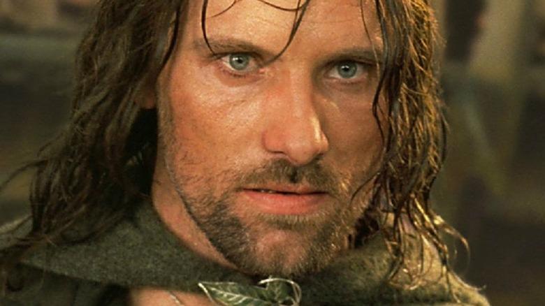 Aragorn glaring