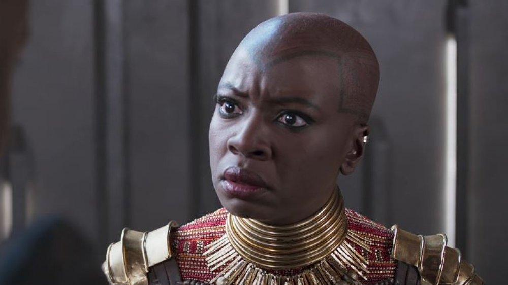Danai Guirira as Okoye in Black Panther