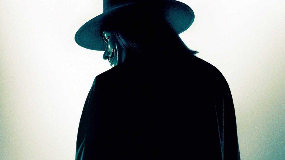 V as seen in V for Vendetta
