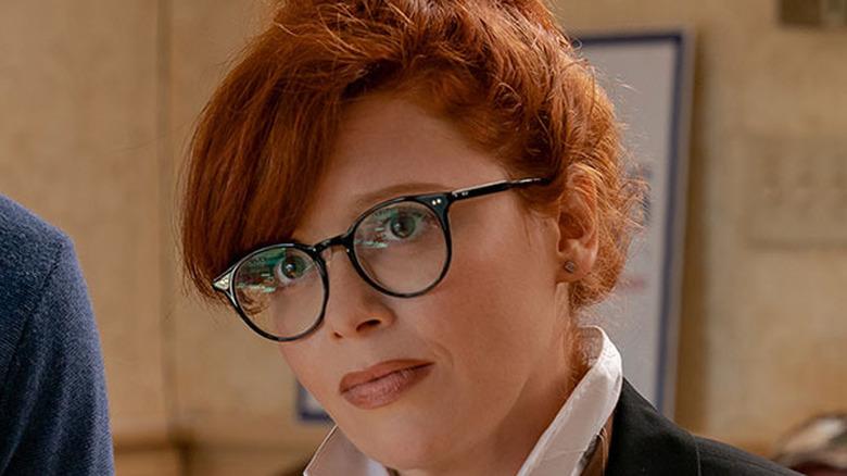 Tina glasses puzzled