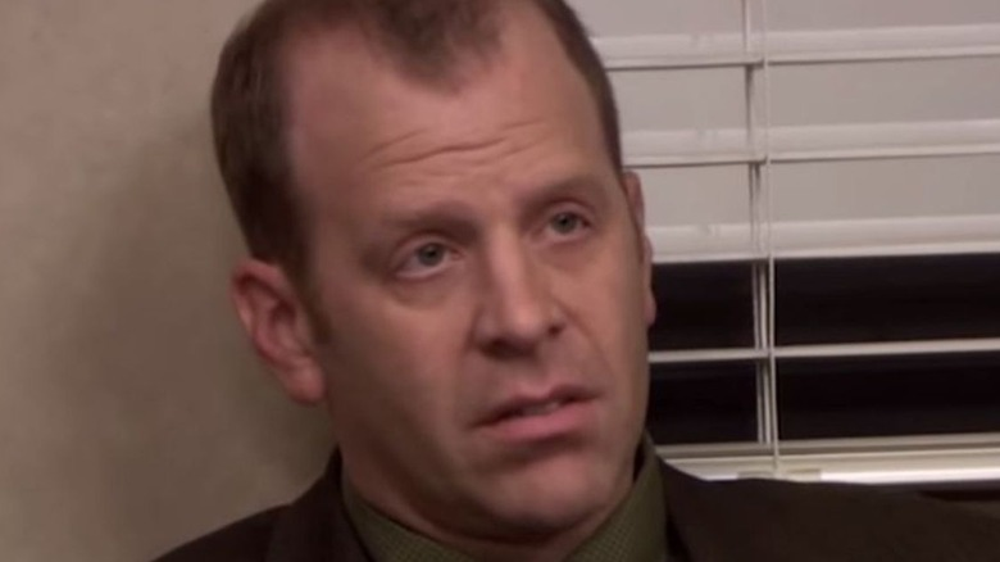 Toby Flenderson staring