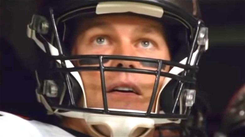 Tom Brady in helmet