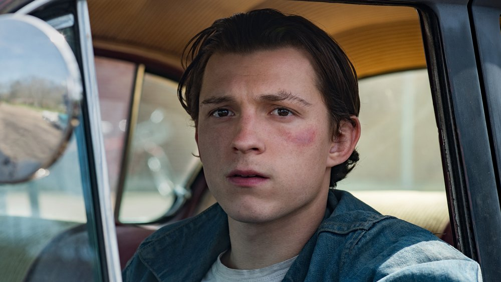 Tom Holland as Arvin in The Devil All the Time