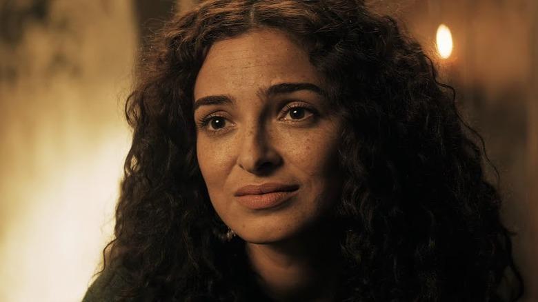 Anna Shaffer as Triss Merigold on Netflix's The Witcher