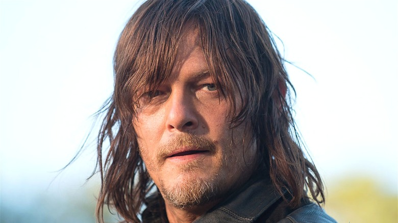 Daryl staring off screen