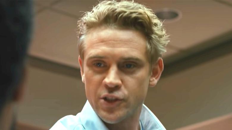 Boyd Holbrook as Tynan in Beckett