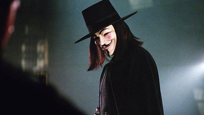 Hugo Weaving V V for Vendetta