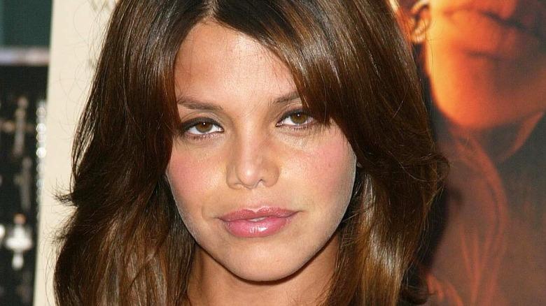 A close up on Vanessa Ferlito posing