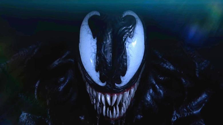 Venom lurking in darkness