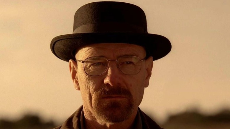 Walter White in pork pie hat