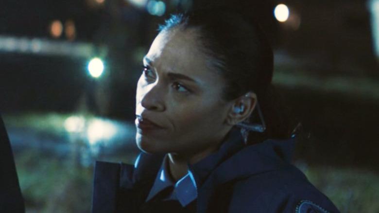 Agent Rodriguez tilting head