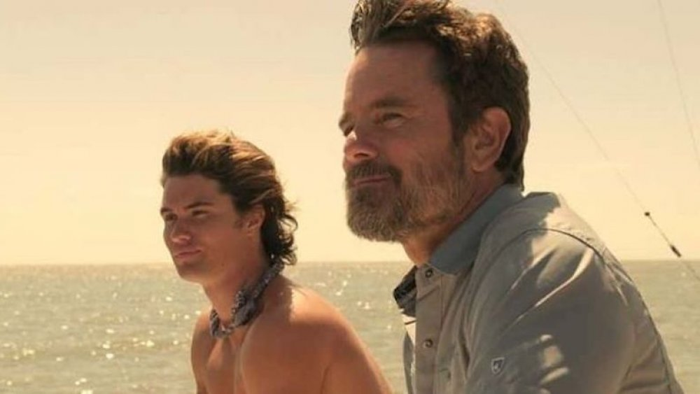 Charles Esten as Ward Cameron on Outer Banks