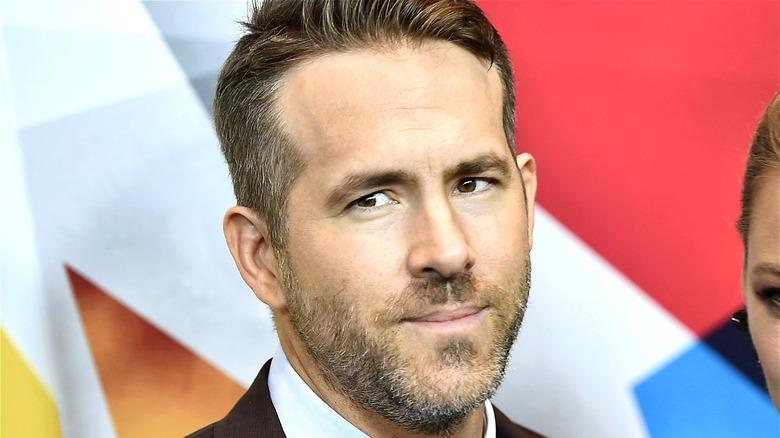 Ryan Reynolds posing