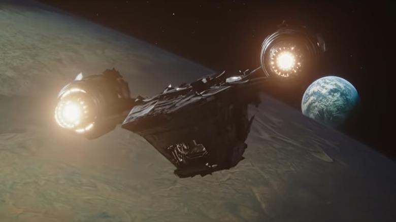 The Razor Crest, as seen in the trailer for The Mandalorian season 2