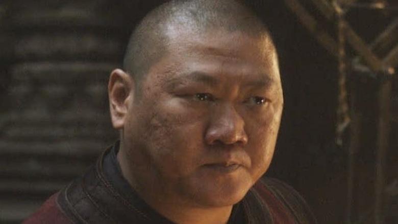 Wong staring
