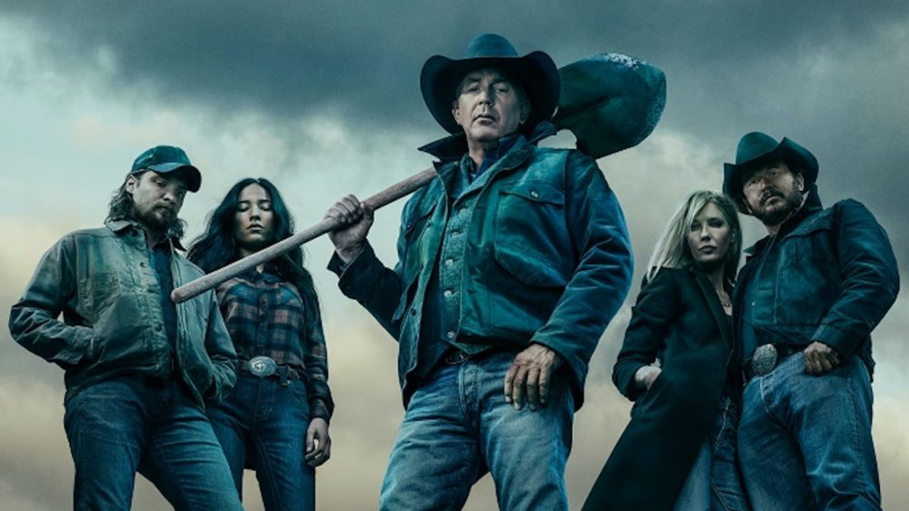 The cast of Yellowstone