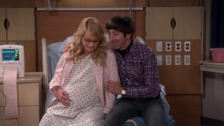 Bernadette and Howard prepare for the arrival of their daughter on The Big Bang Theory