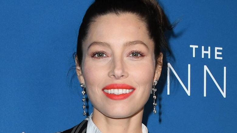 Jessica Biel at an event for The Sinner on USA Network