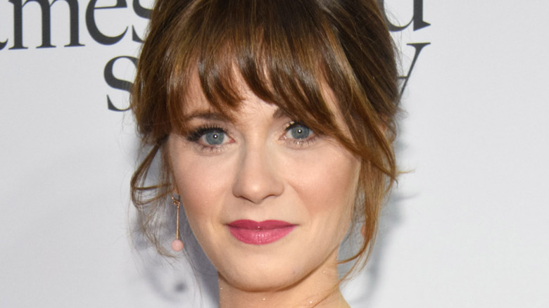 Zooey Deschanel's face, and only her face
