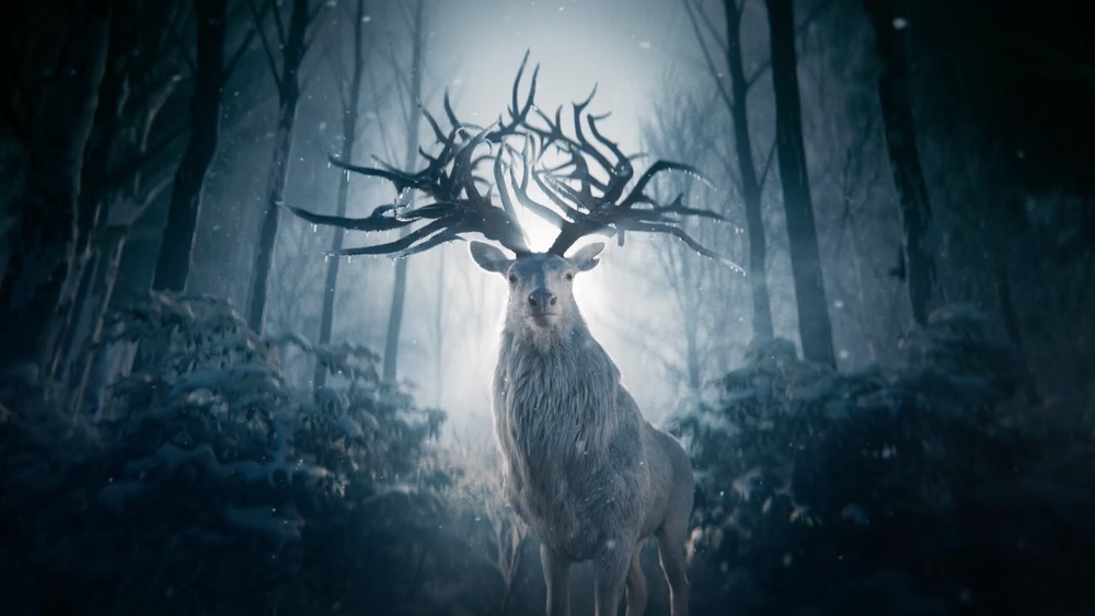 Creature with antlers in Shadow and Bone