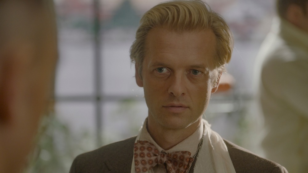 Adam Campbell dons a bowtie as NCIS' young Ducky