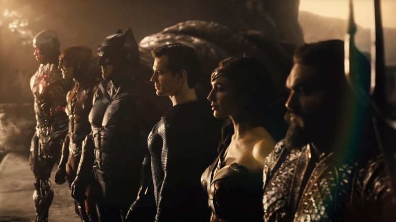 The Justice League comes together in the 2017 film
