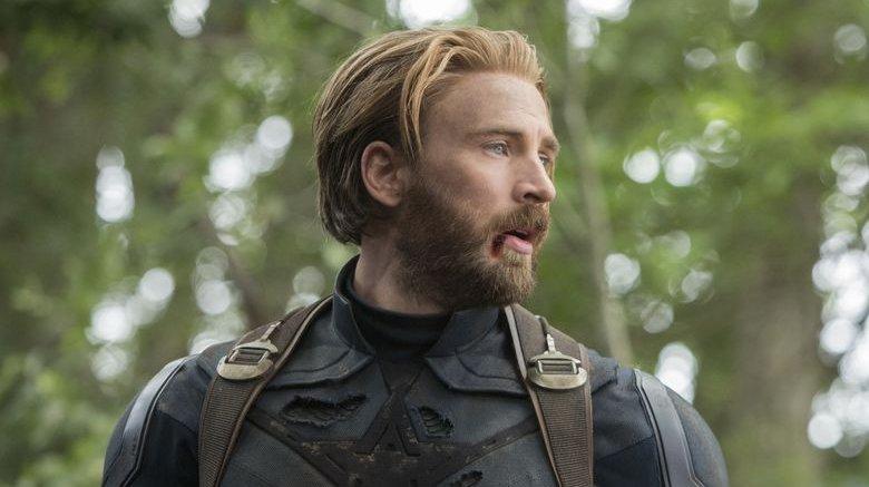 Captain America in Infinity War