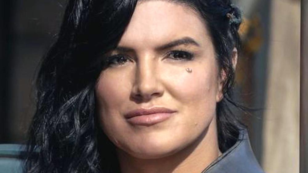 Gina Carano Cara Dune smirk