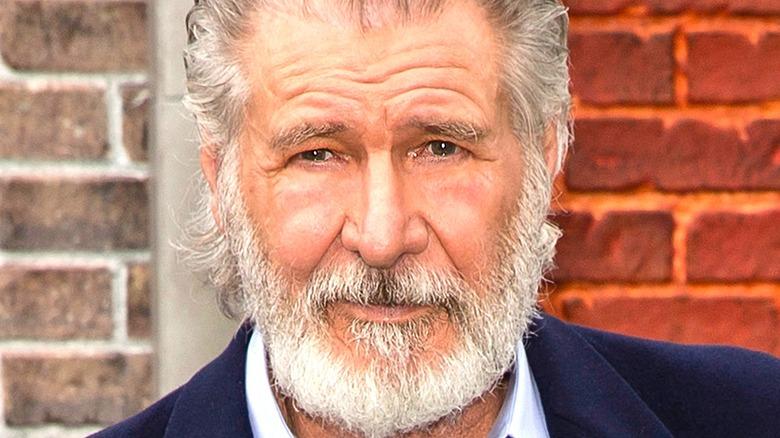 Harrison Ford posing