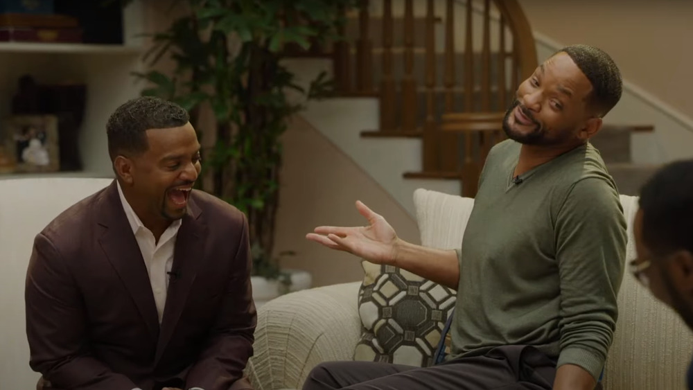 Will Smith and Alfonso Ribeiro as seen in the trailer for The Fresh Prince of Bel-Air Reunion