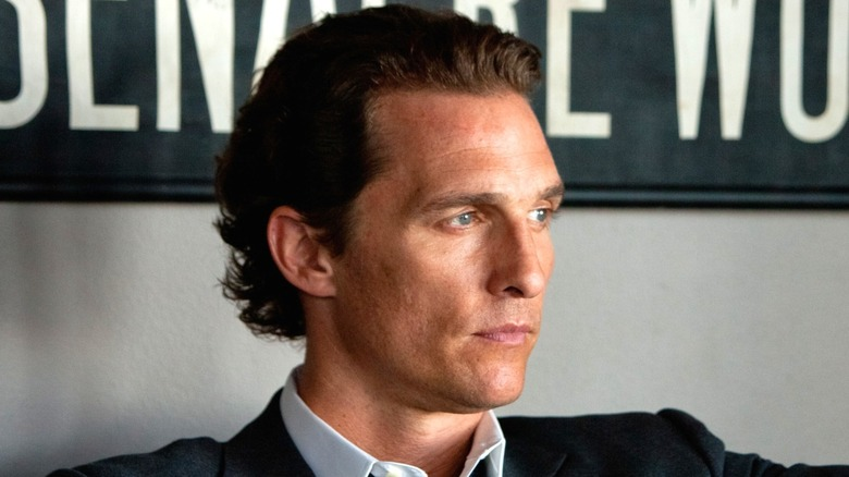 Matthew McConaughey Mickey Haller stoic