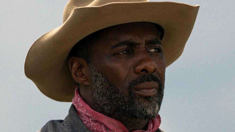 Idris Elba as Harp in Concrete Cowboy