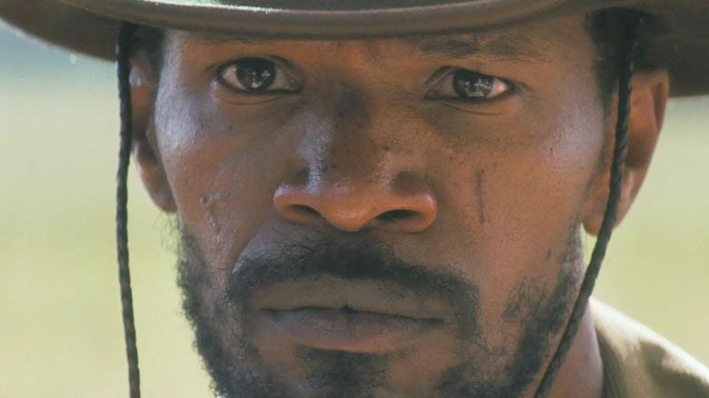 Django in western attire