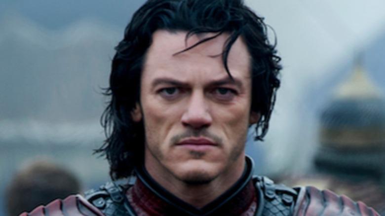 Dracula wearing armor