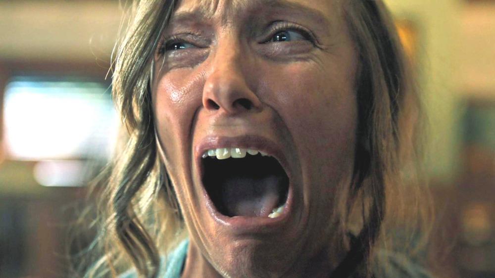 Toni Collette scream Hereditary
